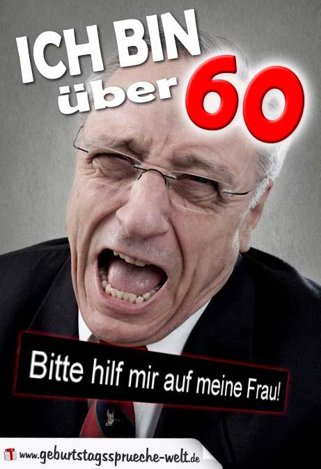 60. Geburtstags Lustige Geburtstagsgrüße - Geburtstagssprüche-Welt