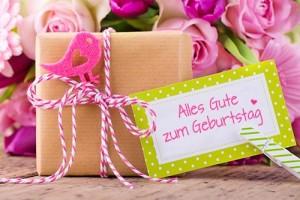 Geschenkideen zum Geburtstag