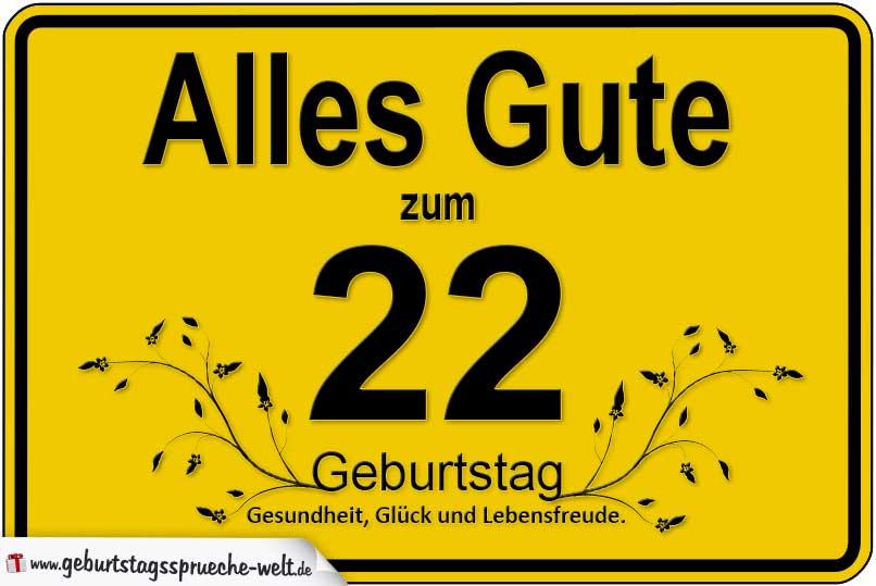 Alles Gute Zum 22 Geburtstag Schlumpflied Liebe