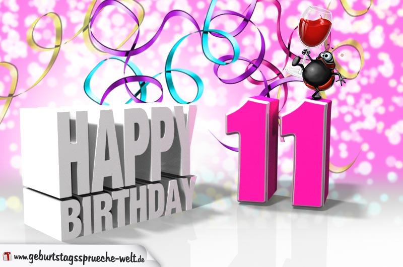 Geburtstagsgrüße Zum 11 Geburtstag