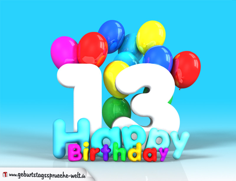 Happy Birthday 13 Jahre Geburtstag Video 13 Jahre Happy Birthday