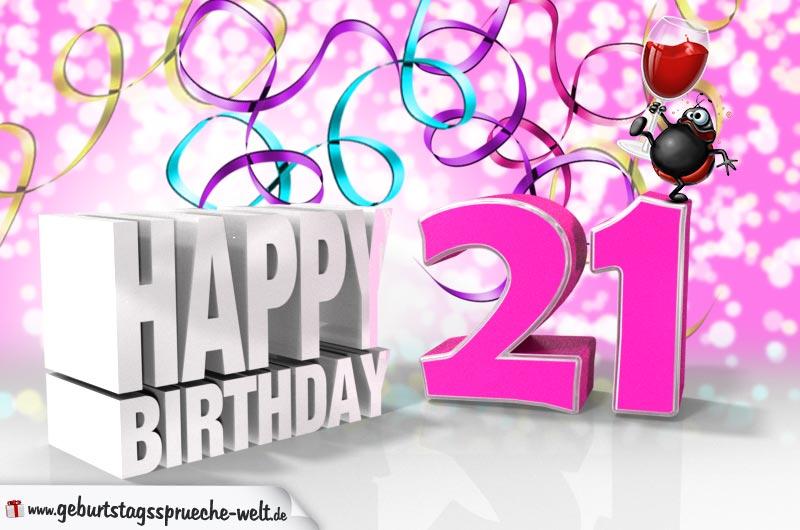 Geburtstagswunsche frauen 21