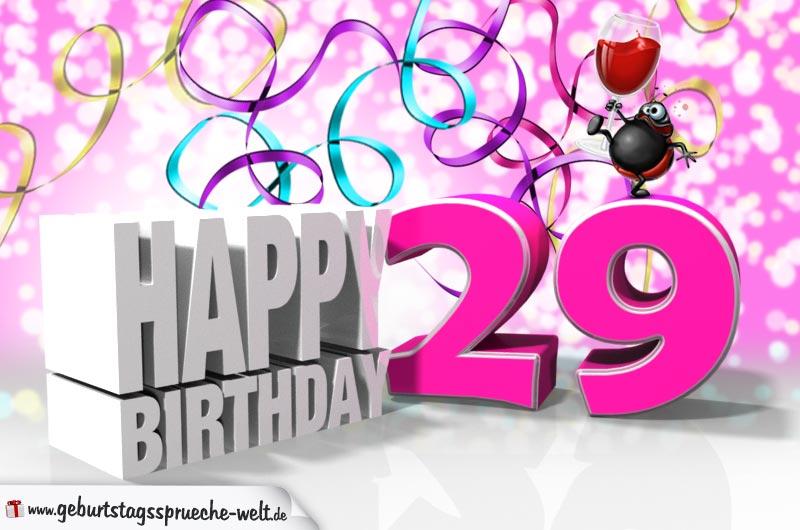 Geburtstagssprüche 29