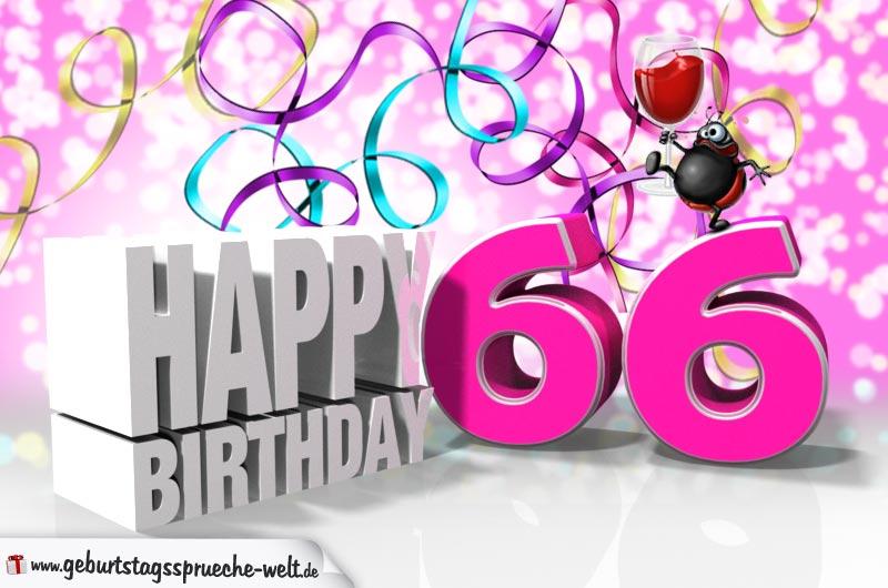 Geburtstagswunsche fur 66 jahrige frau