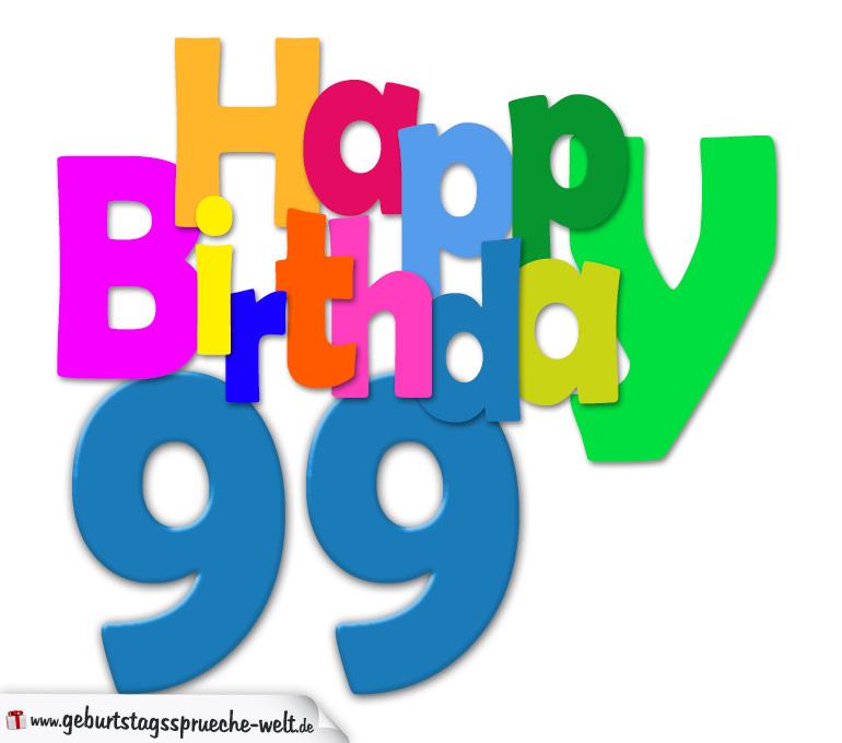 99 geburtstag sprüche
