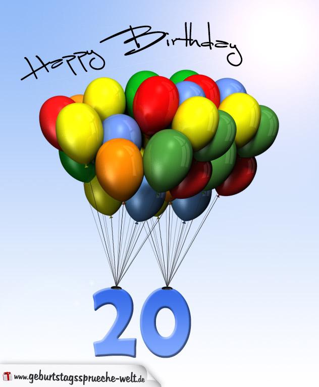 Geburtstag spruche luftballon