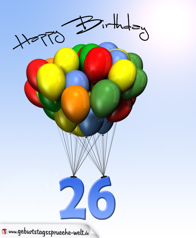 26 Geburtstag
