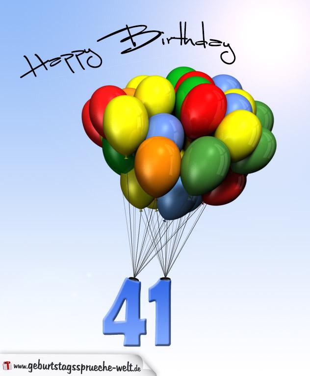 Sprüche Zum 41 Geburtstag