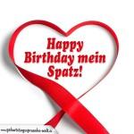 Geburtstagsspruch als Geburtstagskarte für Paare