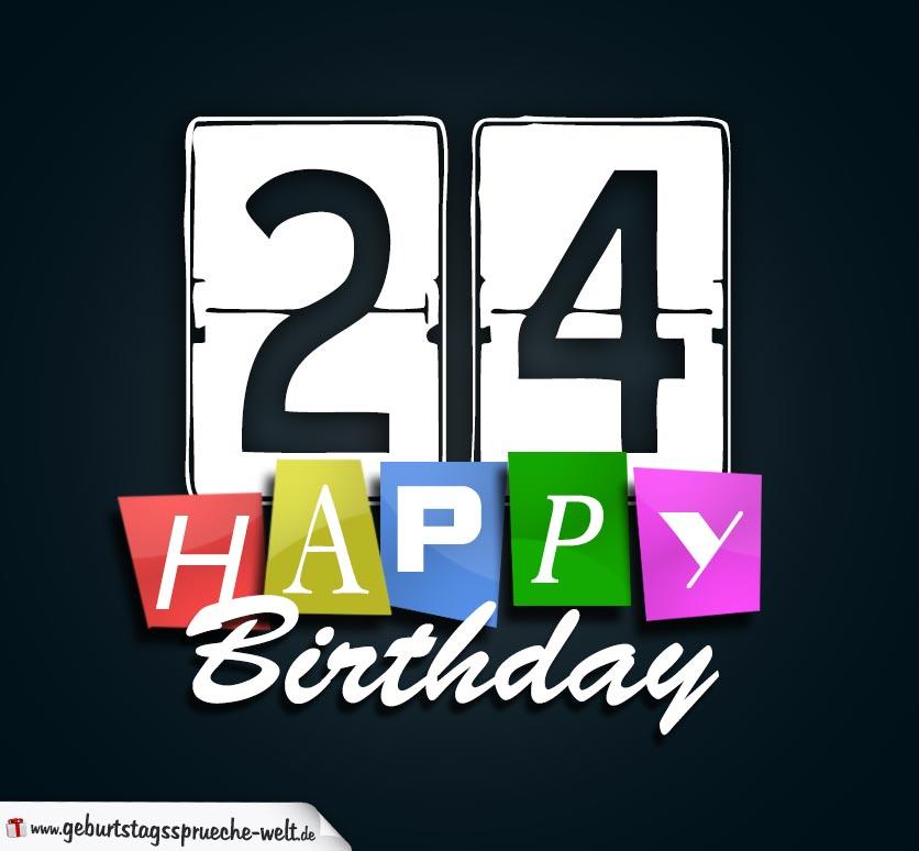 Geburtstag 24