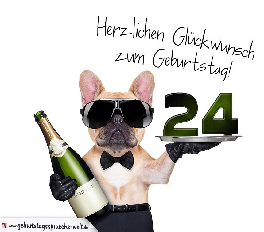 24. Geburtstag Geburtstagssprüche