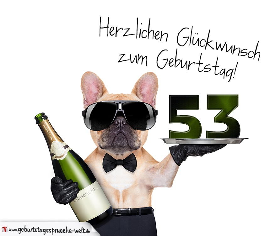 53. Geburtstag Geburtstagssprüche