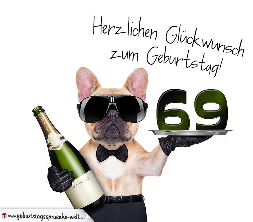 69. Geburtstag Geburtstagssprüche