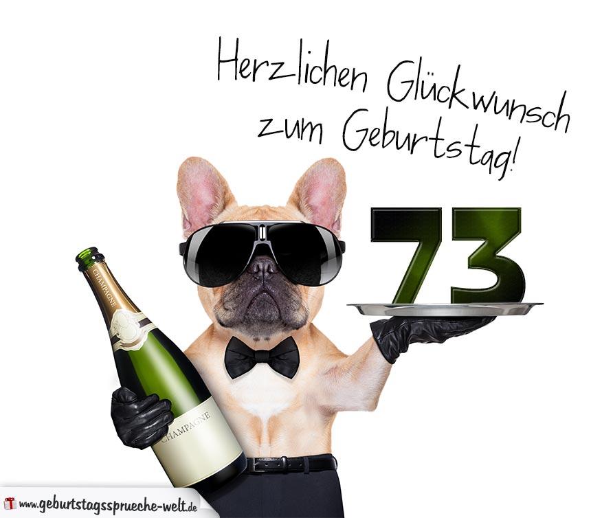73. Geburtstag Geburtstagssprüche