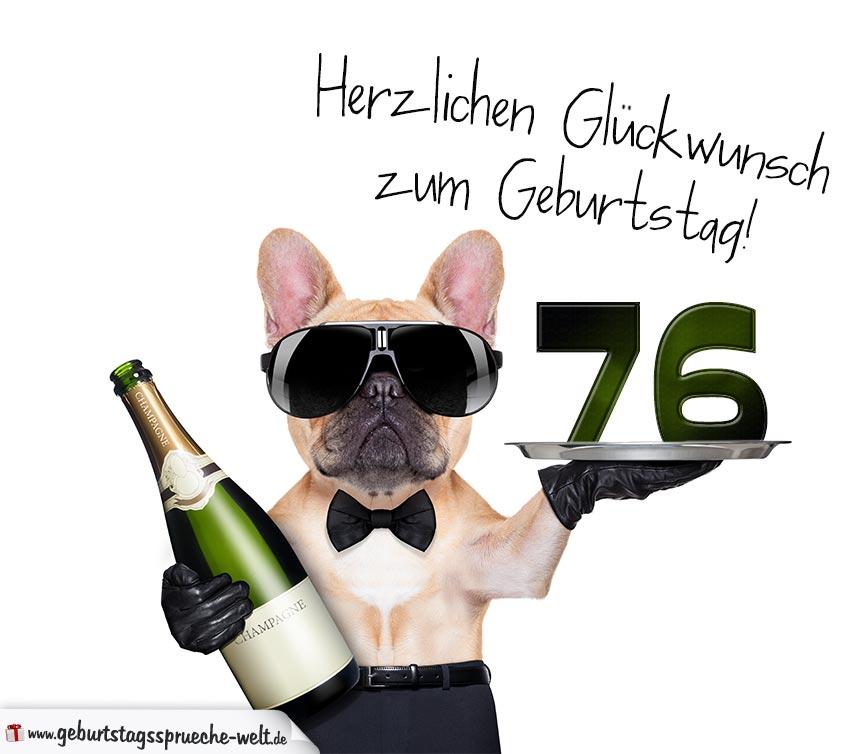76. Geburtstag Geburtstagssprüche