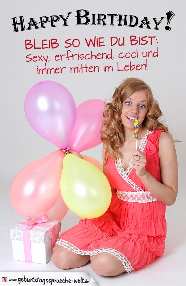 Lustig Freche Geburtstagskarte Fur Frauen