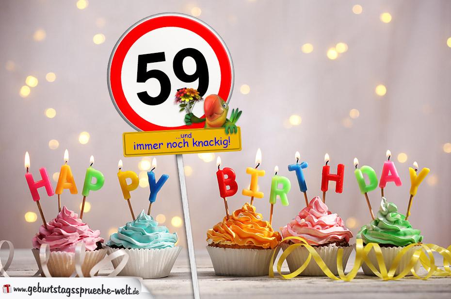 Geburtstagsgluckwunsche zum 59 geburtstag