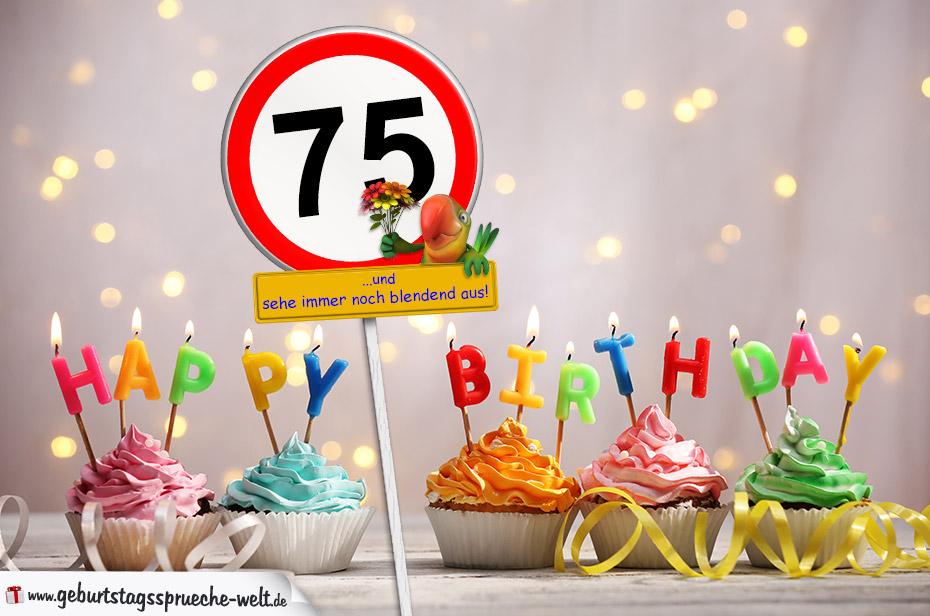 Geburtstagswunsche 75