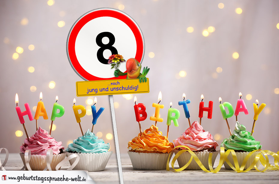 Geburtstagswunsche zum 8 geburtstag