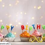 Glückwunschkarte zum Geburtstag mit Verkehrsschild und Alter