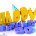 30. Geburtstag Happy Birthday