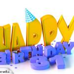31. Geburtstag Happy Birthday