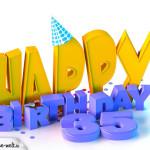 35. Geburtstag Happy Birthday