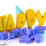 41. Geburtstag Happy Birthday