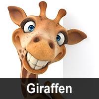 Geburtstagskarten mit Giraffen