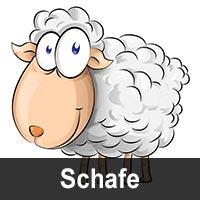 Geburtstagskarten mit Schafen