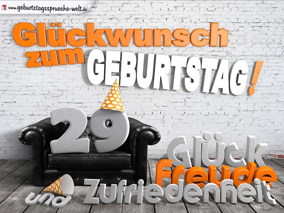 Sprüche Zum 29. Geburtstag