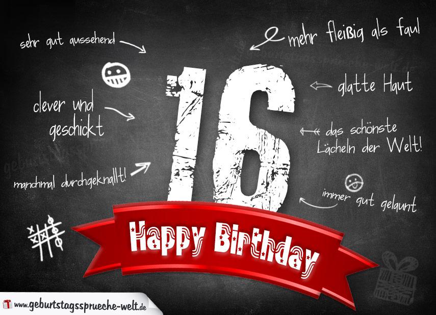 Geburtstagsspruche 16 Triciahallekathy Site