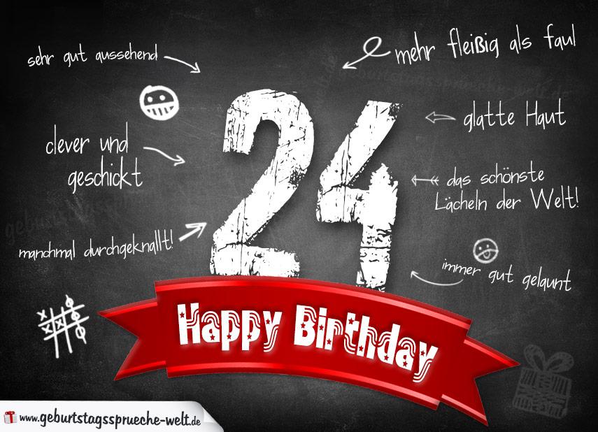Geburtstagswünsche Zum 24 Geburtstag