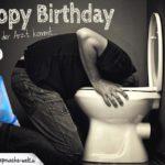 Geburtstagswunsch - Feiern bis der Arzt kommt