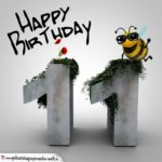 Happy Birthday 3D - 11. Geburtstag