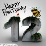 Happy Birthday 3D - 12. Geburtstag