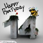Happy Birthday 3D - 14. Geburtstag