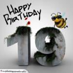 Happy Birthday 3D - 19. Geburtstag