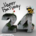 Happy Birthday 3D - 24. Geburtstag