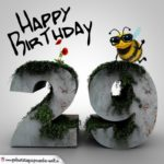 Happy Birthday 3D - 29. Geburtstag