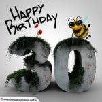 Happy Birthday 3D - 30. Geburtstag