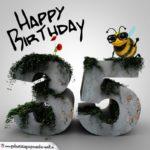 Happy Birthday 3D - 35. Geburtstag