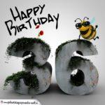 Happy Birthday 3D - 36. Geburtstag