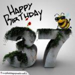 Happy Birthday 3D - 37. Geburtstag