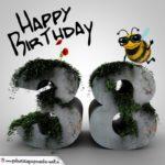 Happy Birthday 3D - 38. Geburtstag