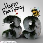 Happy Birthday 3D - 39. Geburtstag