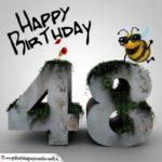 Happy Birthday 3D - 48. Geburtstag