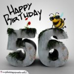 Happy Birthday 3D - 56. Geburtstag