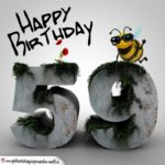 Happy Birthday 3D - 59. Geburtstag