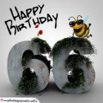 Happy Birthday 3D - 66. Geburtstag